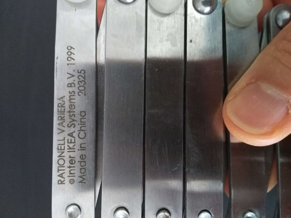 Ikea kuche tellerhalter for Ikea gewurzglaser