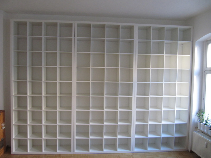 gigantic expedit bookcase ikea hackers. Black Bedroom Furniture Sets. Home Design Ideas