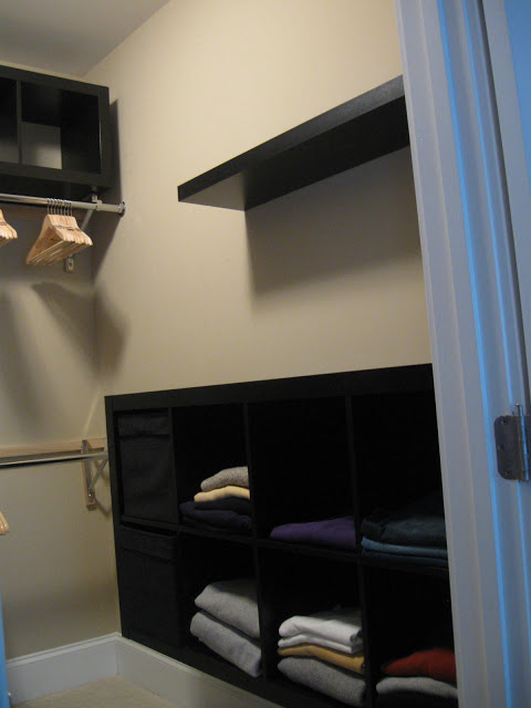 Expedit Closet Small Walk In Ikea Hackers