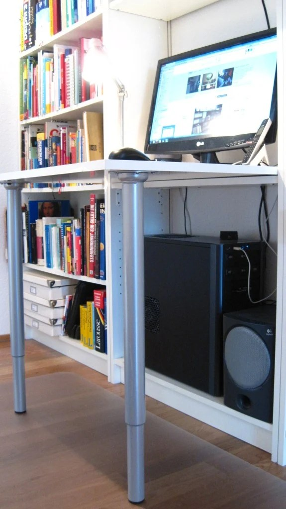 Billy Bookcase Desk