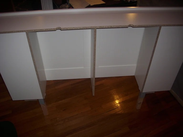 Perfect I went with these legs because they are solid wood and you need to cut them down Ikea doesn ut offer table legs that are the right length