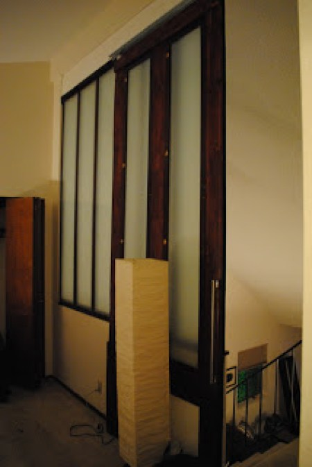 Ikea pax door loft divider