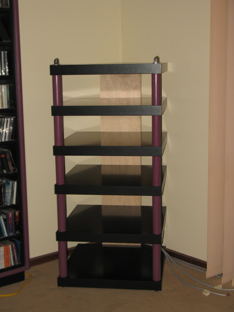 hifi rack from six lack tables ikea hackers. Black Bedroom Furniture Sets. Home Design Ideas