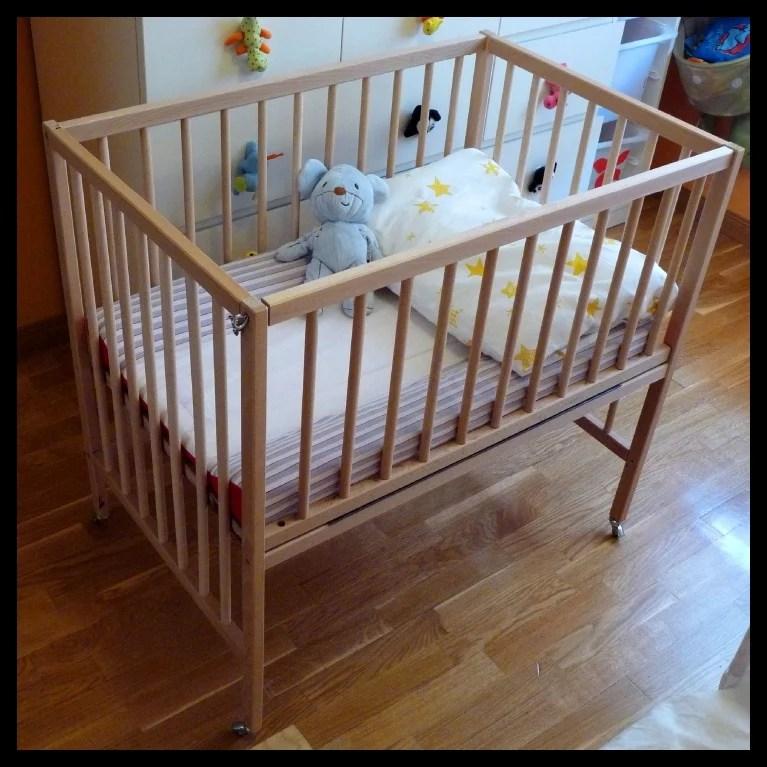 SNIGLAR - Crib co sleeper - IKEA Hackers