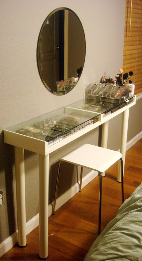 Makeup Vanity For Small Spaces Ikea Hackers