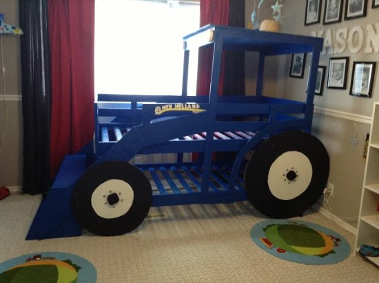 Tractor Bed Frame Plans : Tractor bed ikea hackers