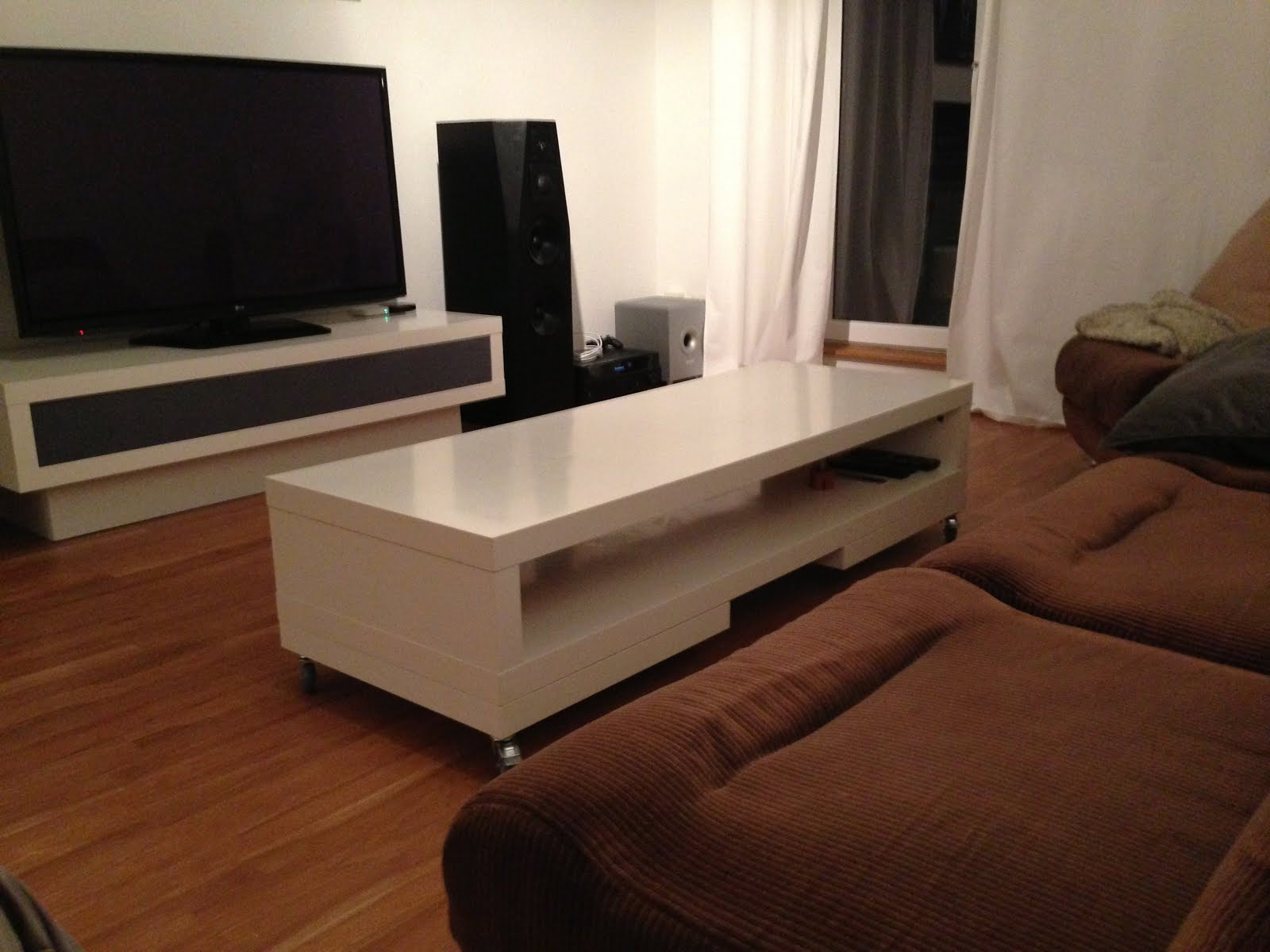 Lack Tv Unit Again Coffee Table Ikea Hackers