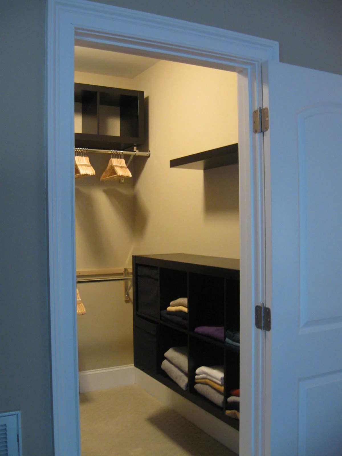 Expedit Closet - Small Walk-in - IKEA Hackers