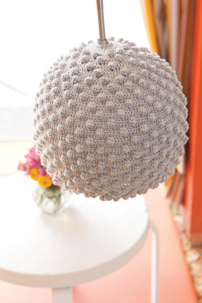 crochet seashell lamps ikea hackers. Black Bedroom Furniture Sets. Home Design Ideas