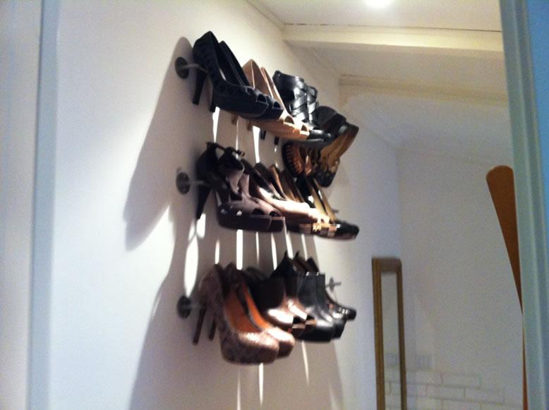 High Heels Hanger With Bygel Ikea Hackers