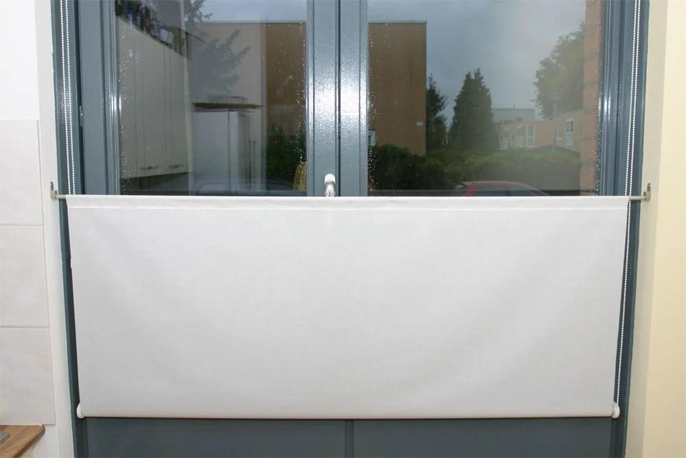 Upside down roller blinds ikea hackers for Ikea tupplur window roller shades