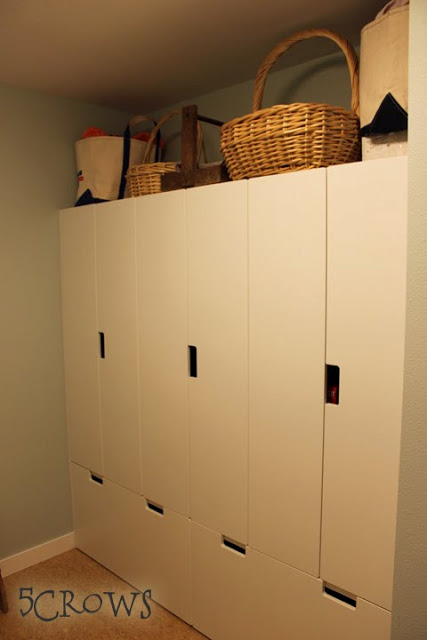children's furniture as pantry storage