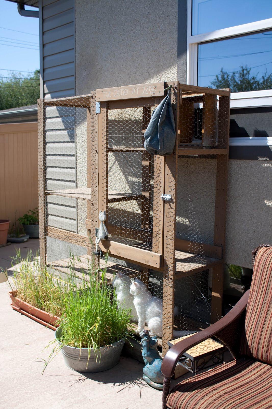 Outdoor Cat Enclosure - IKEA Hackers