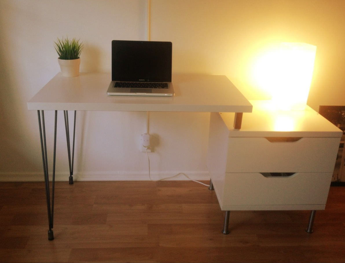 stolmen hairpin leg desk ikea hackers. Black Bedroom Furniture Sets. Home Design Ideas