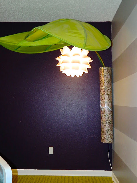 Giant Flower Canopy Lamp Ikea Hackers