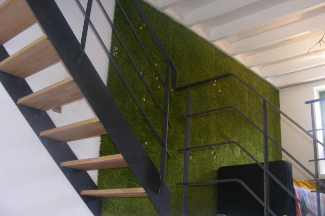 moss feature wall