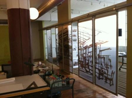 Design Studio Sliding Conference Room Wall Ikea Hackers