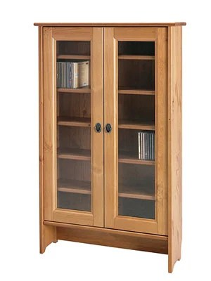 Materials: Leksvik Pine CD Cabinets + Set Of 5 Ikea Antique Pine Shelves
