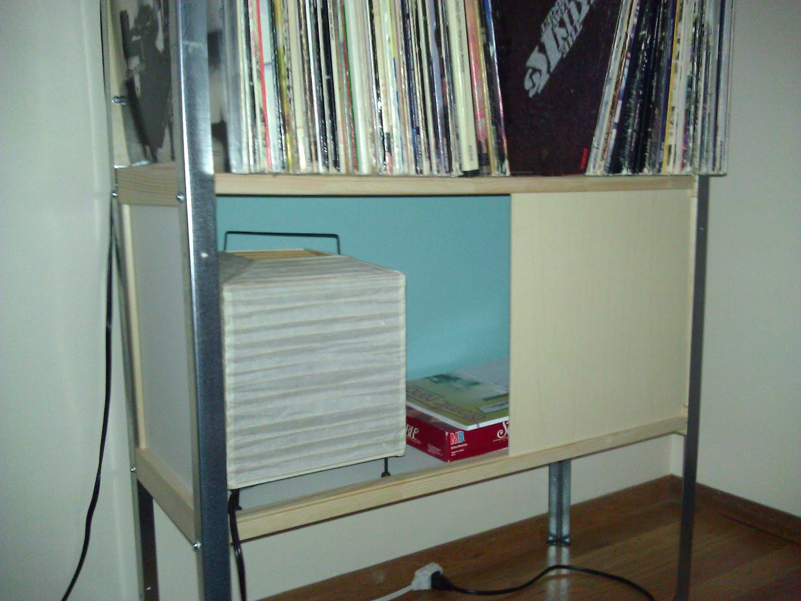 Eames-inspired storage unit - IKEA Hackers