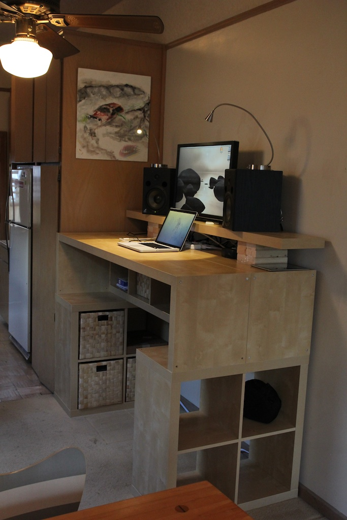 Expedit Standing Desk Ikea Hackers