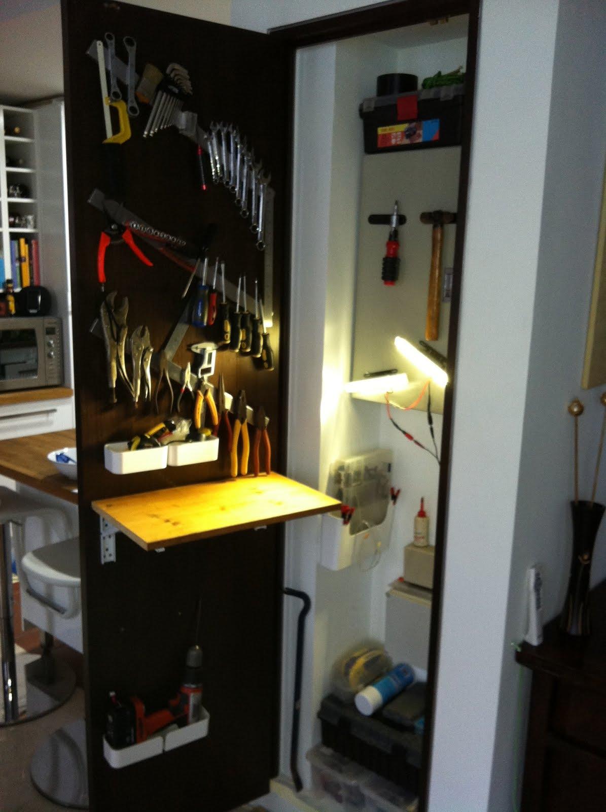 Closet Toolshed Ikea Hackers