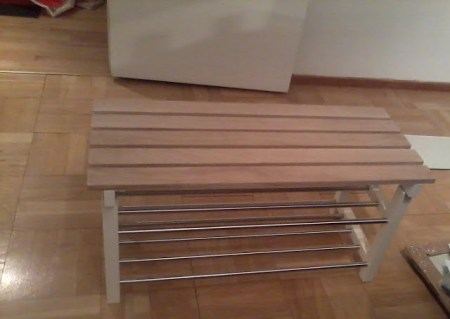 TJUSIG Shoe rack bench