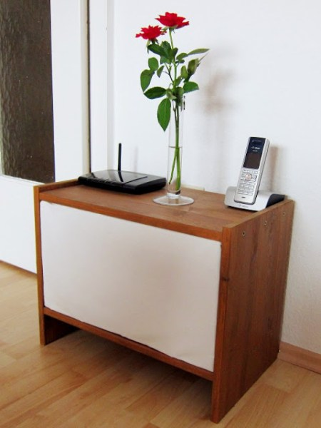 IKEA Rast nightstand to hide cables