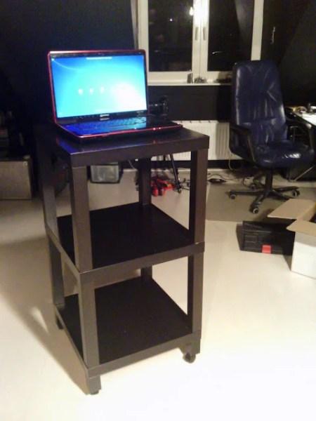 Lack standing desk