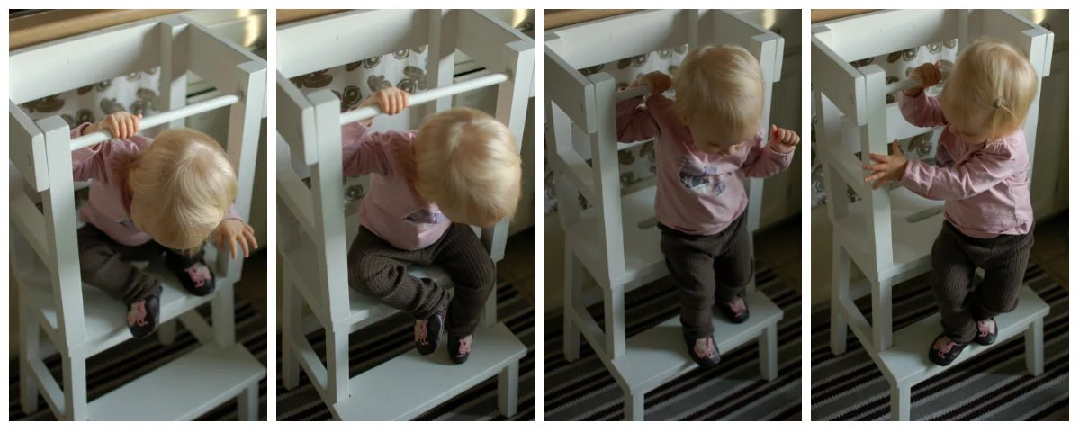 Lucys Learning Tower Ikea Step Stool Hack Ikea Hackers