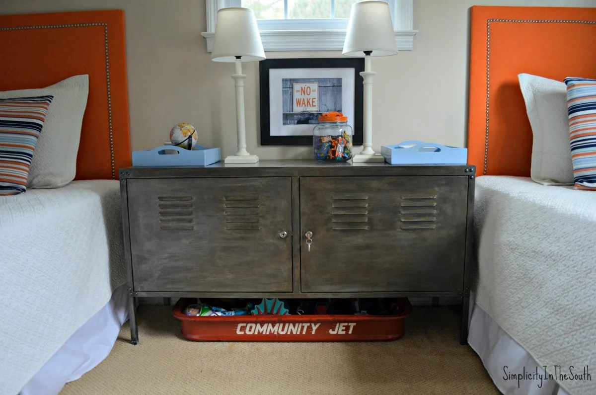 Give Your Ikea Ps Cabinet A Gunmetal Finish Inspired By