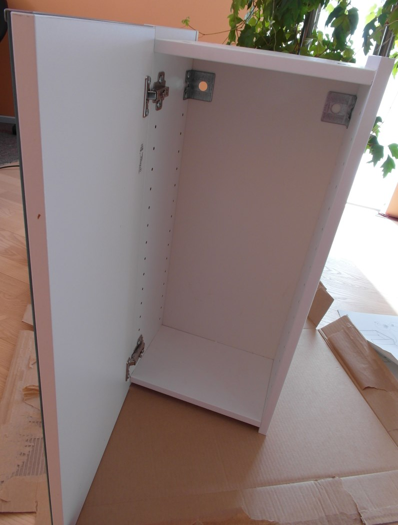 How to 30cm LILLåNGEN mirror wall cabinet IKEA Hackers