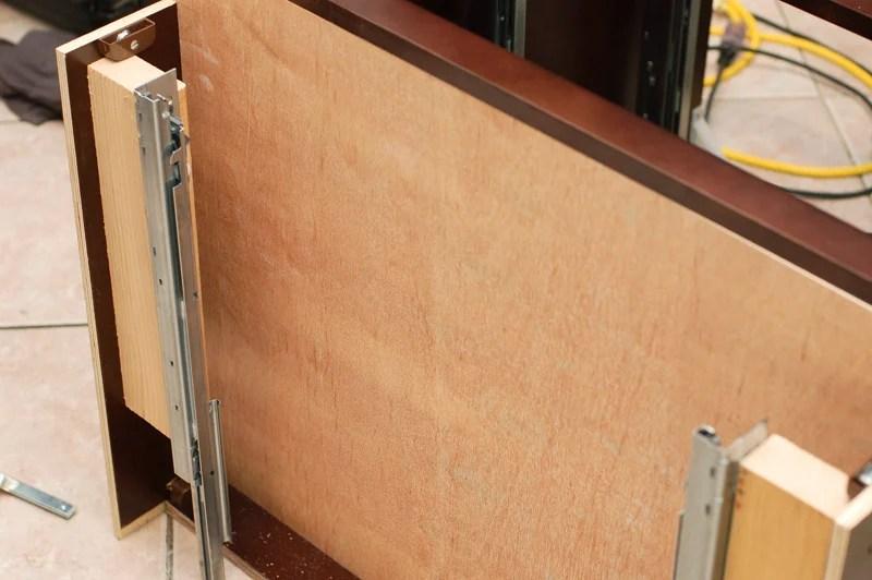 Super Secret Toekick Drawer For Kitchen Cabinet Ikea Hackers
