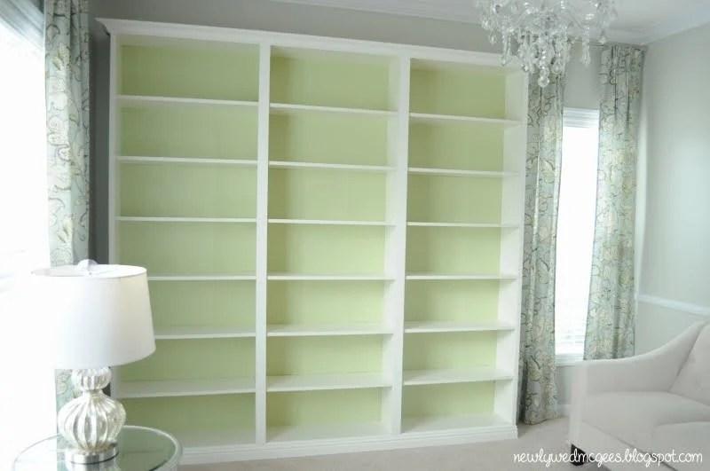 Eccezionale Billy Built-in Bookshelves - IKEA Hackers XX54