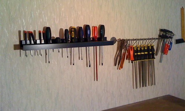 RIBBA Ledge tool rack