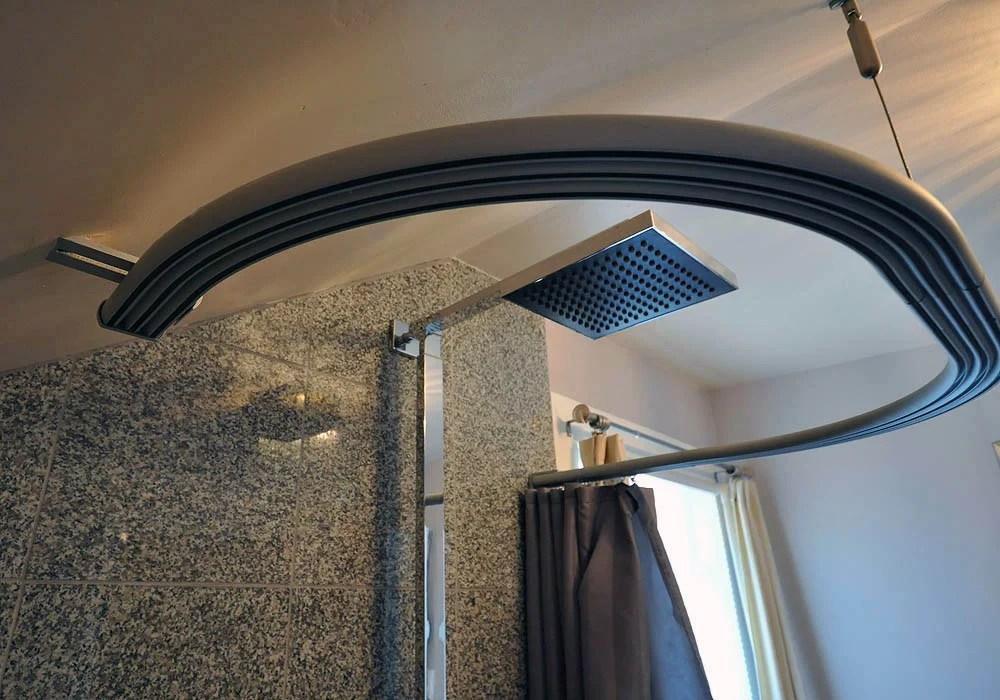 kvartal shower curtain for dormered