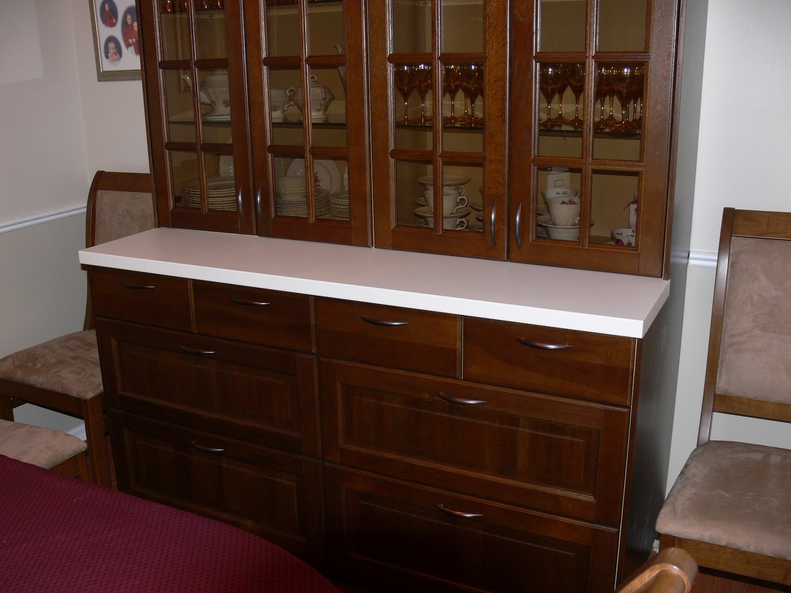With Liljestad Dark Brown Drawers Doors And Cover Panels The Counter Surface Is A PRAGEL White Tools Required Include Jig Saw Table