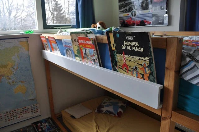 High Sleeper book shelf