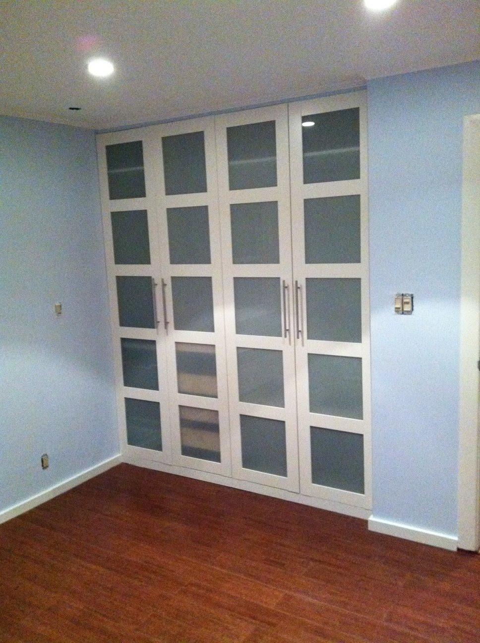 Ikea bedroom sliding wardrobe doors. spare room must buy spare ...