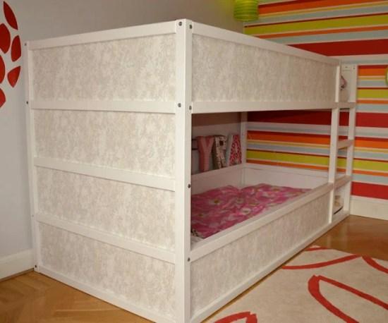 Girly Kura Bunk Bed Ikea Hackers
