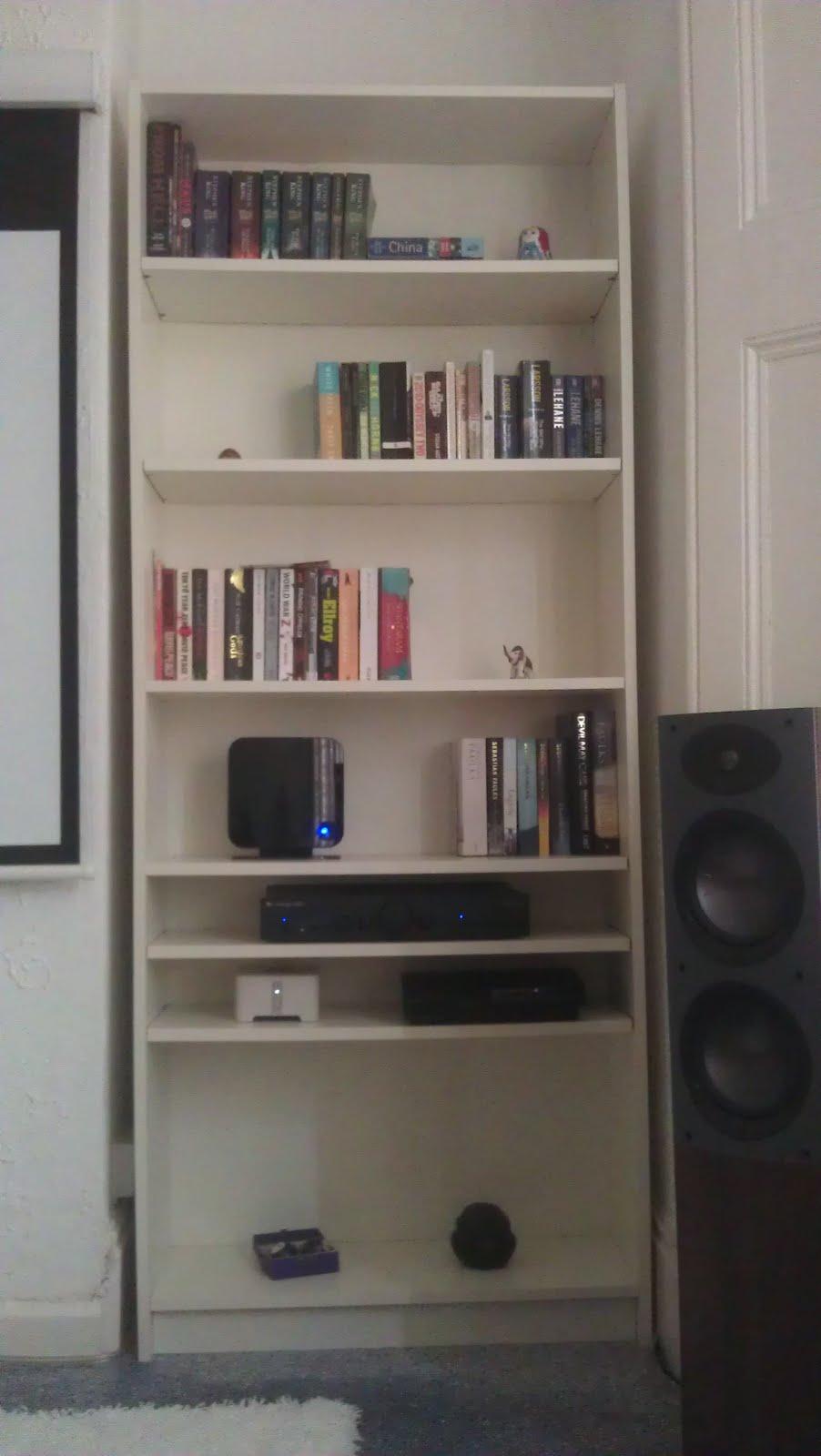 Billy Bookcase Hi Fi Integration Ikea Hackers