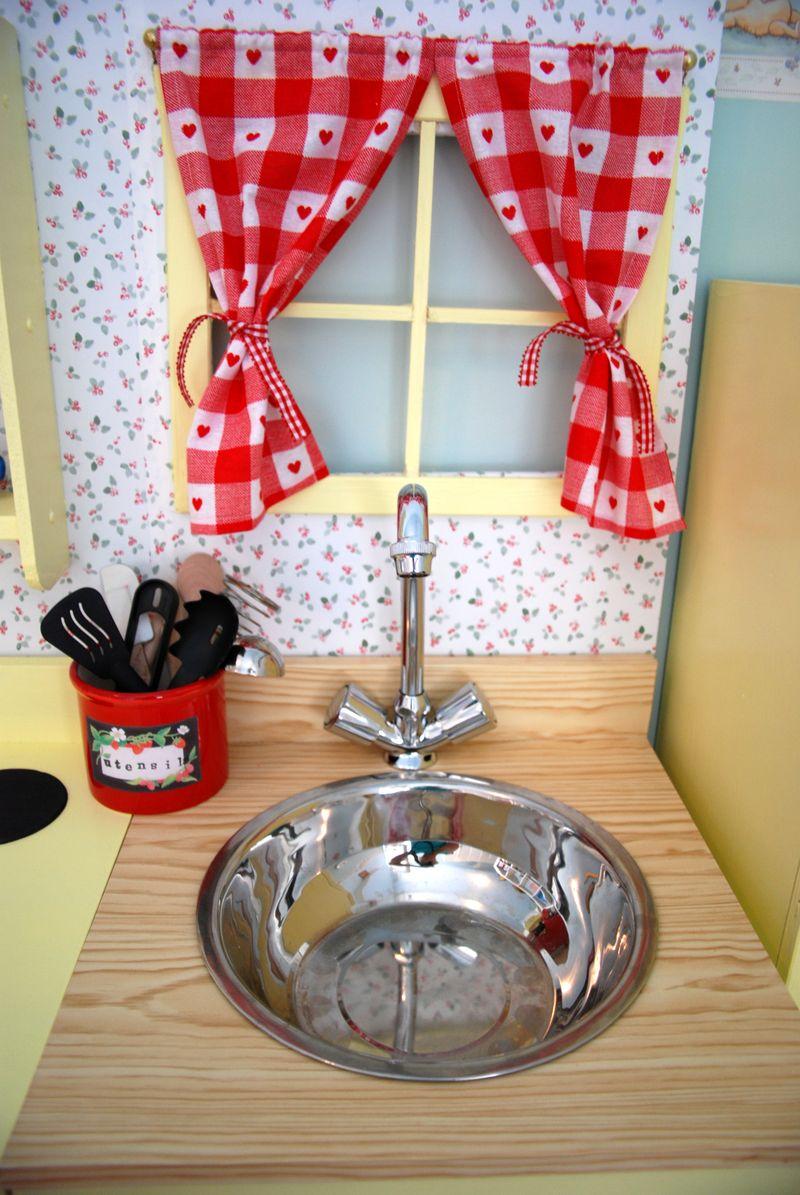 Vintage Style Play Kitchen Ikea Hackers