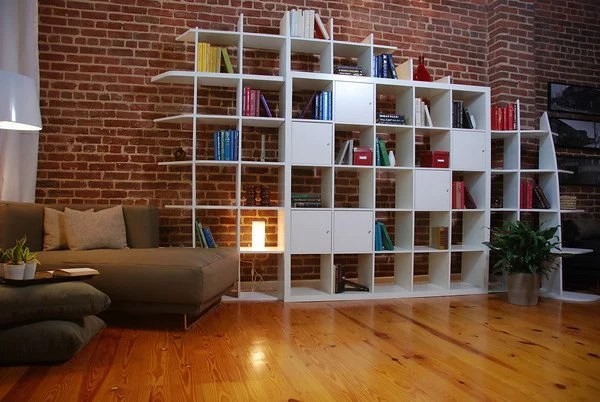 expedit storage and room divider from hgtv guy ikea hackers. Black Bedroom Furniture Sets. Home Design Ideas