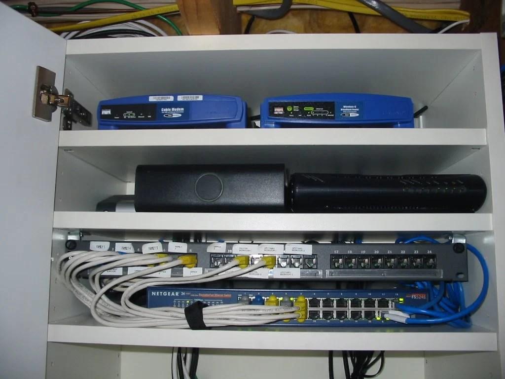 Computer Equipment Cabinet Ikea Hackers