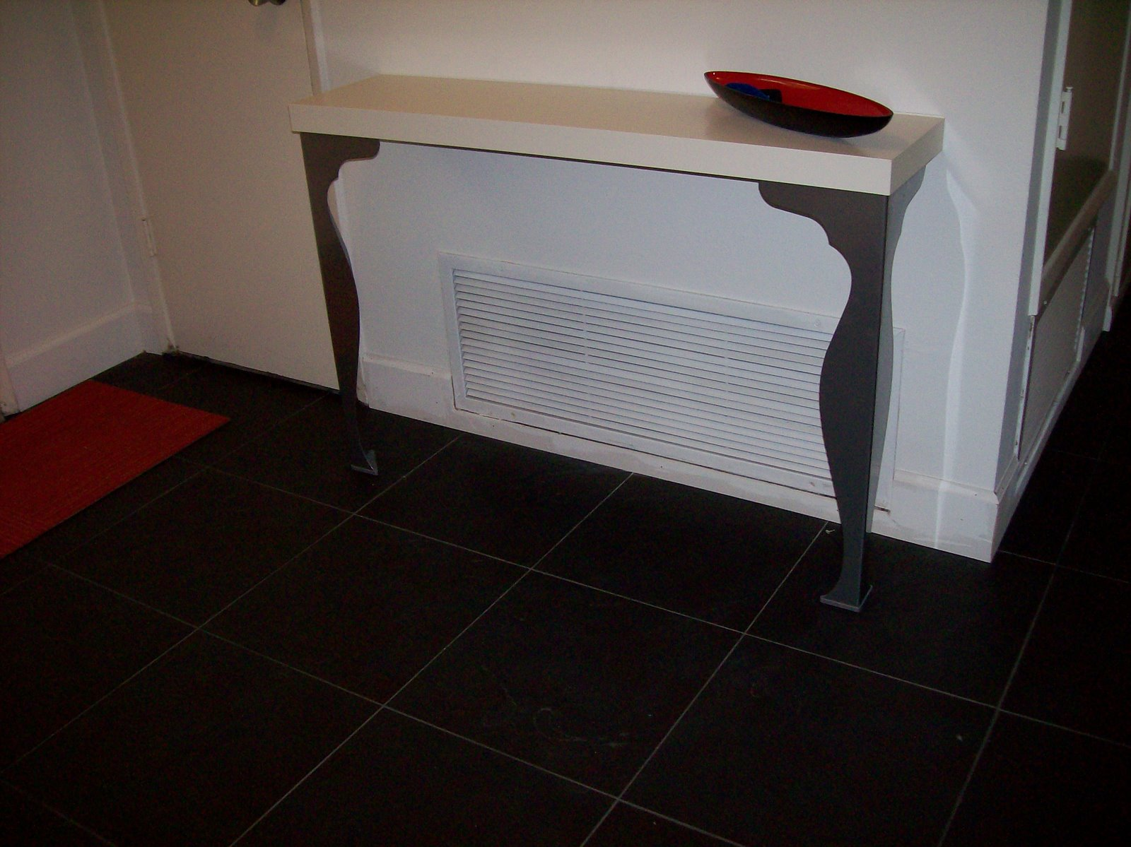 Foyer Table Ikea : Make a slim and sexy entry way table ikea hackers
