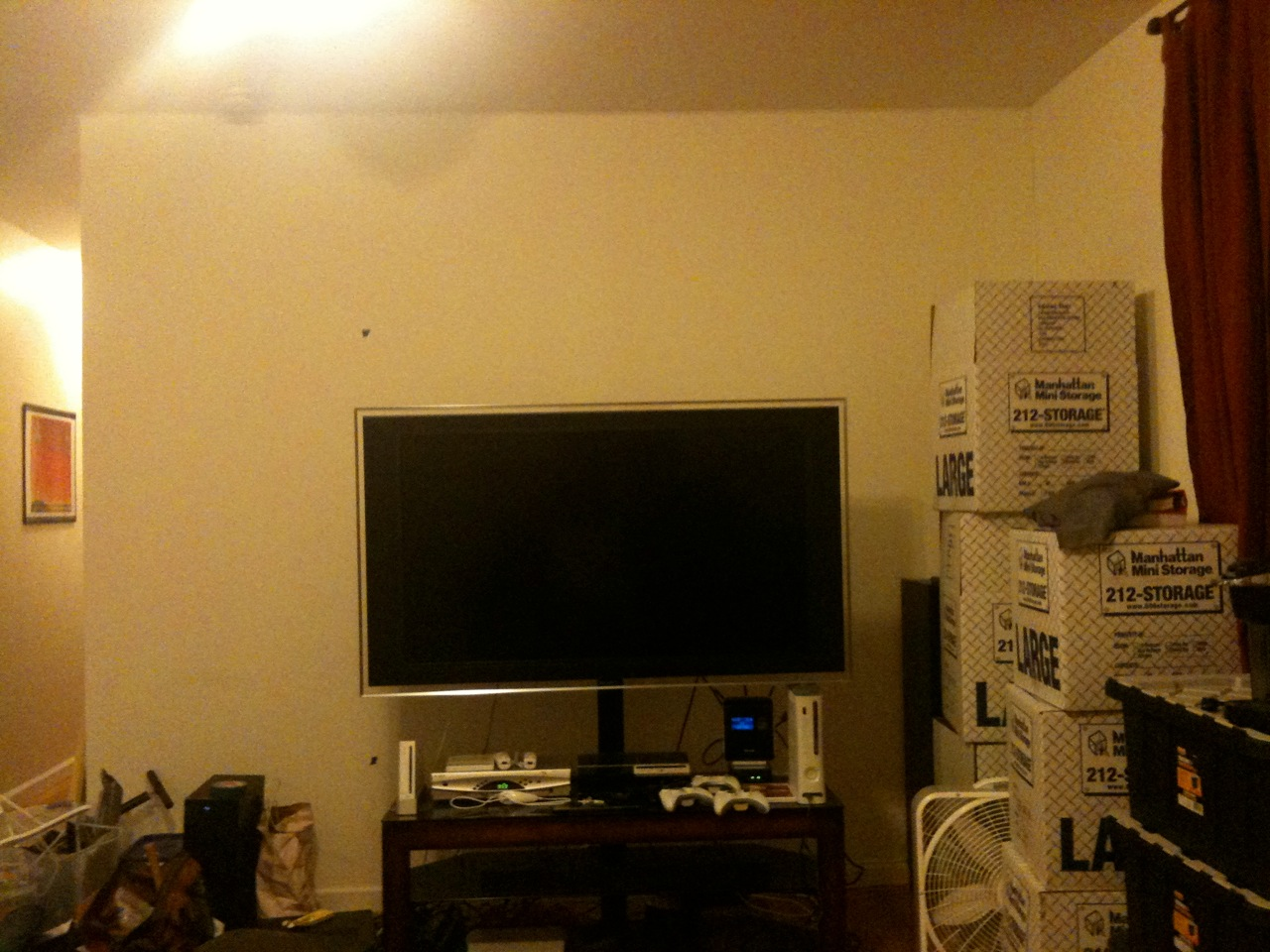 lack wall mounted home theater ikea hackers. Black Bedroom Furniture Sets. Home Design Ideas