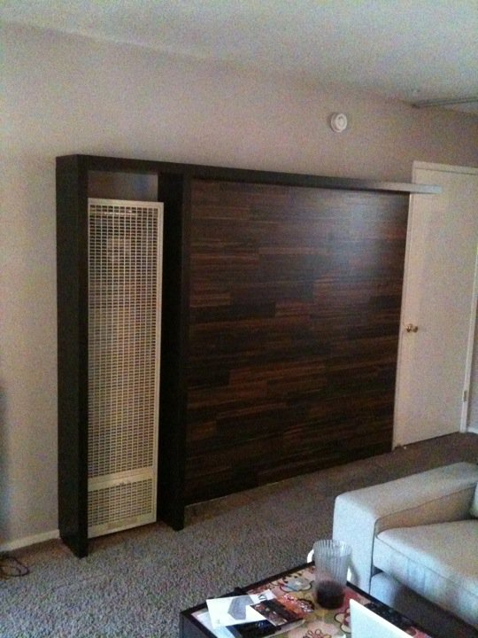 Wall Heater Cover Bookshelves Ikea Hackers