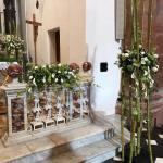 bambu fiori chiesa