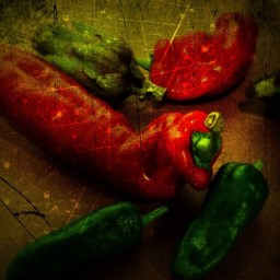 STILL LIFE WITH PEPPERS