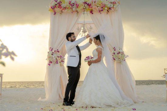 mariage indien aux Maldives