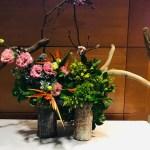Ikebana arrangement Koryu Shoutoukai